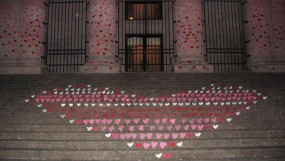 Hearts at the Art Gallery