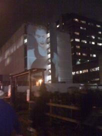 Oakridge Mall - Projection Advertising 1 of 2