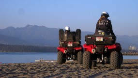 VPD ATV Beach Patrol