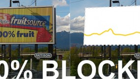 Would you complain if your view of the mountains was blocked by an advertisement?