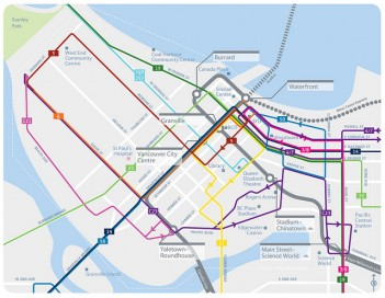Downtown Bus Network