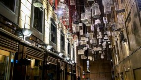 Sydney Lane Bird Cages. Image Credit. ASPECT Studio