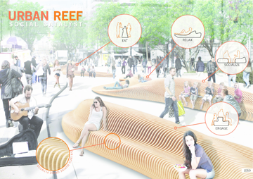 Urban Reef: Winning entry in the 2014 Robson Redux design competition.