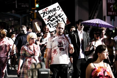 Zombies Are/Were People Too. Photo by Pascal Krammer.
