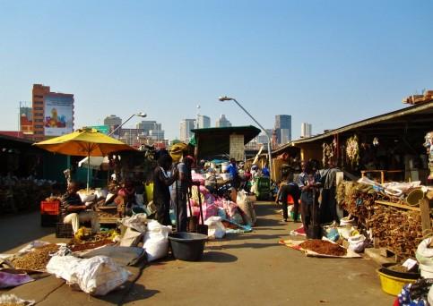 Muthi city shot