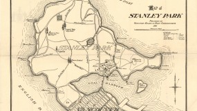 Map of Stanley Park, 1916. (City of Vancouver Archives, MAP 368a-r).