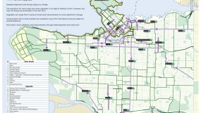 City of Vancouver 5 Year Cycling Network: Additions and Upgrades