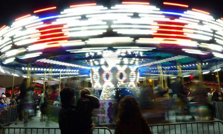 Carousel - German Christmas Market.