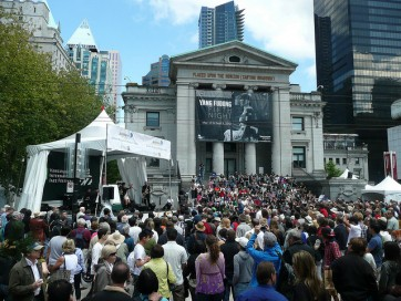 Robson Square - Jazz Festival