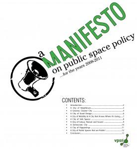 VPSN Manifesto - 2008