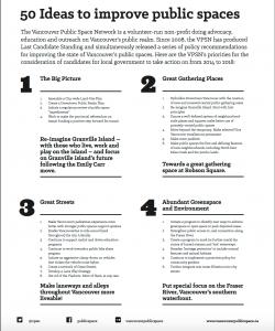 VPSN Manifesto, 2014