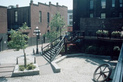 Blood Alley Square, Vancouver, circa 1975