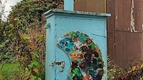 """Artbutus"": Street art along the Arbutus Greenway calls for more/photo by Naomi Reichstein"