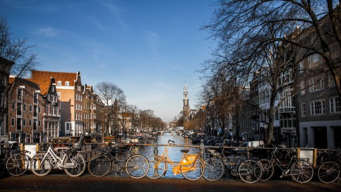 Amsterdam is struggling to find parking for its 1.1 million bicycles. Photo: Joep Olthuis