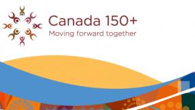 Canada 150+ Logo