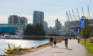 Northeast False Creek waterfront, City of Vancouver