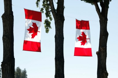 Canada Day - Flags - Photo by Keith JJ