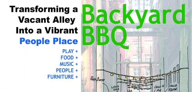 Backyard BBQ poster