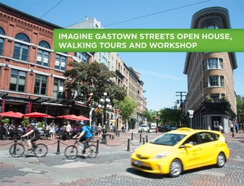 Imagine Gastown Streets Poster - Pic Only
