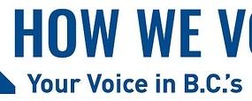 How We Vote - Logo