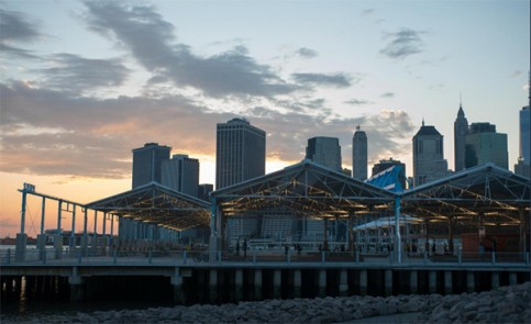 Pier 2 Park - New York City - Photo Julienne Schaer