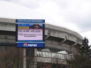 Video Billboard - BC Place