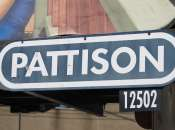 Pattison billboard sign